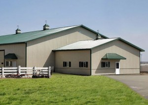 Reaves Building Systems Equestrian Shed