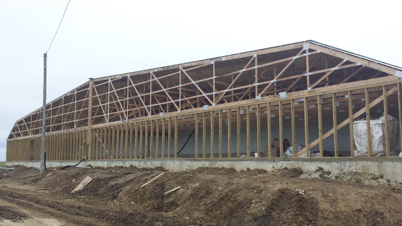 Reaves Buildings - Hog Swine Building In Process