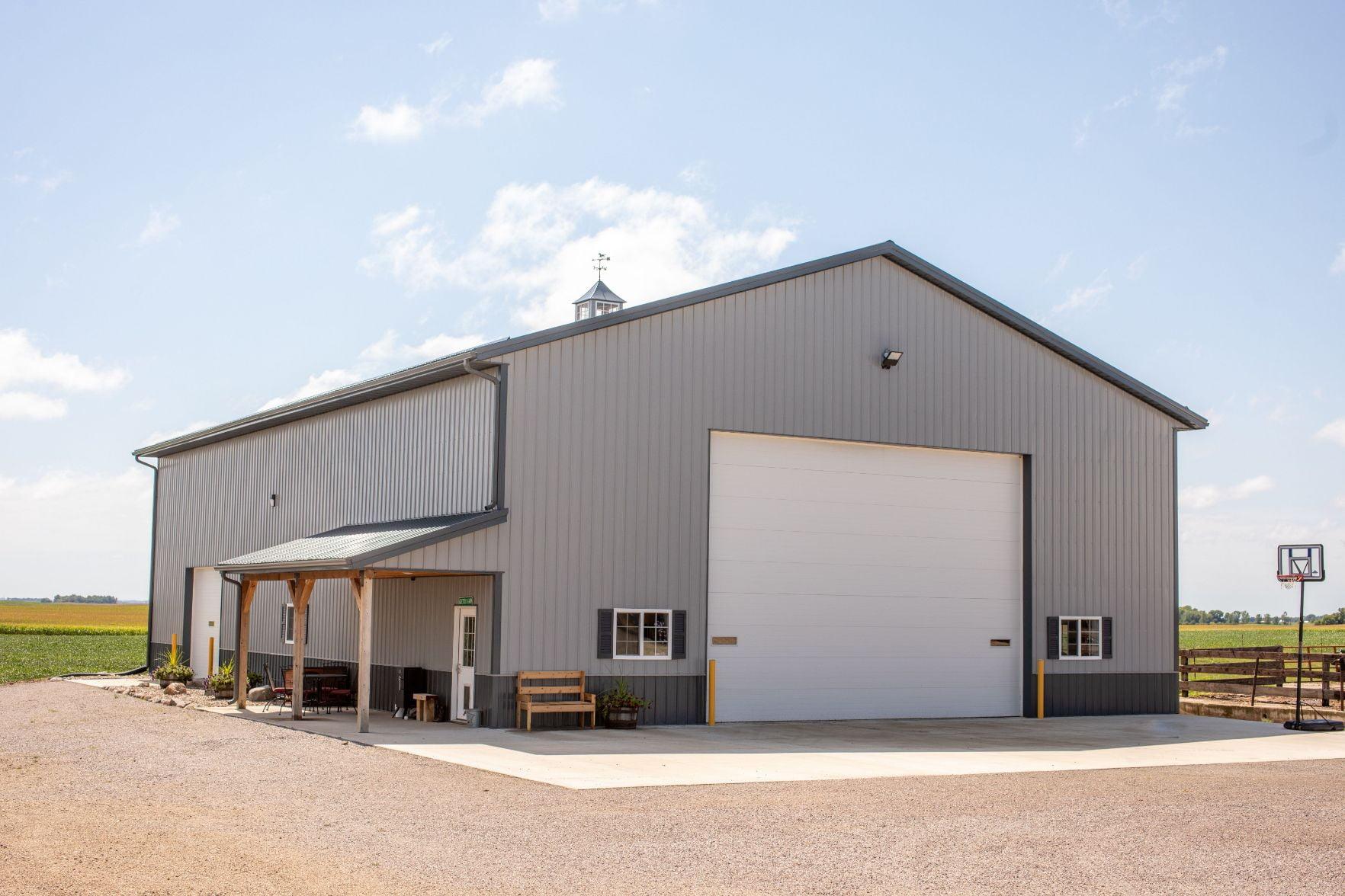 Shops & Storage Building 2
